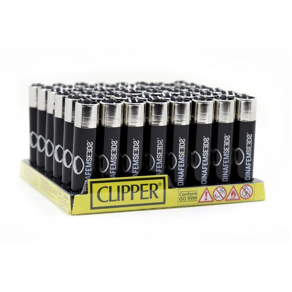 Mechero Clipper Dinafem (Caja 48 unidades)
