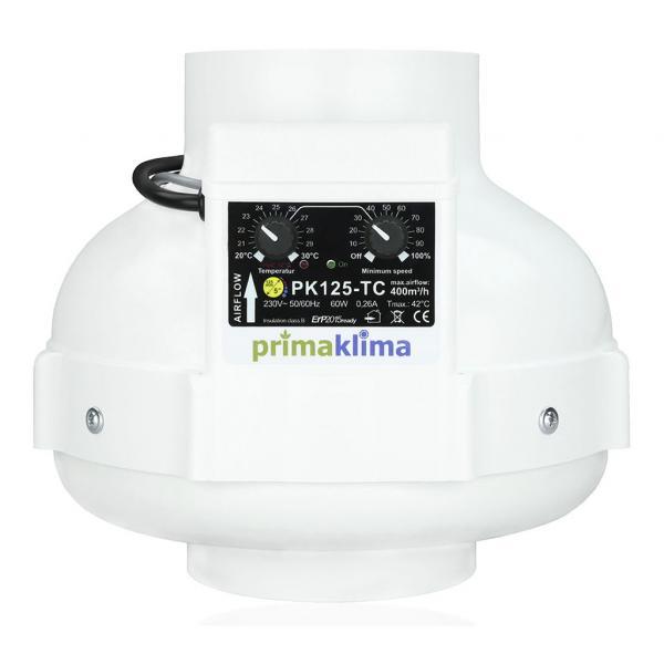 Extractor con Control de Temperatura (125 mm)