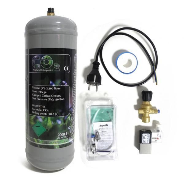 Kit CO2 Bombona Desechable (Kit)