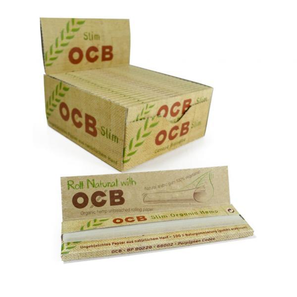 Feuilles à rouler OCB - Organic Slim (Boîte de 50 carnets)