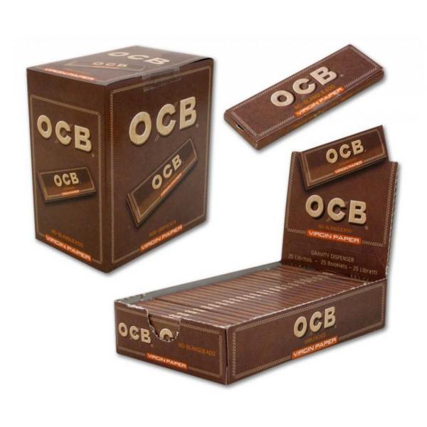 Feuilles à rouler OCB - Virgin Ultra Thin (Boîte 100 unités)