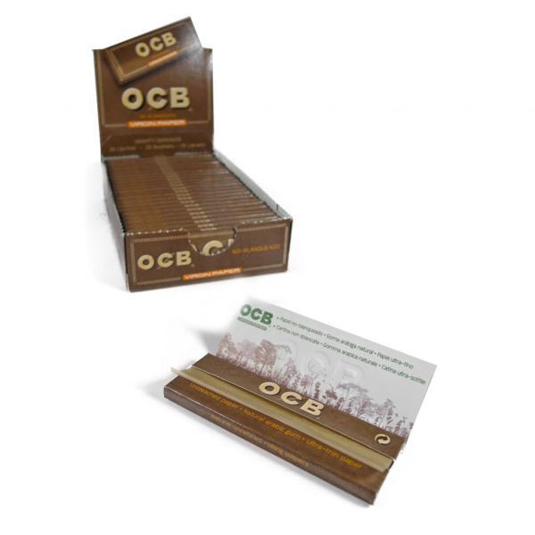 Feuilles à rouler OCB - Virgin Ultra Thin (Boîte 25 unités)