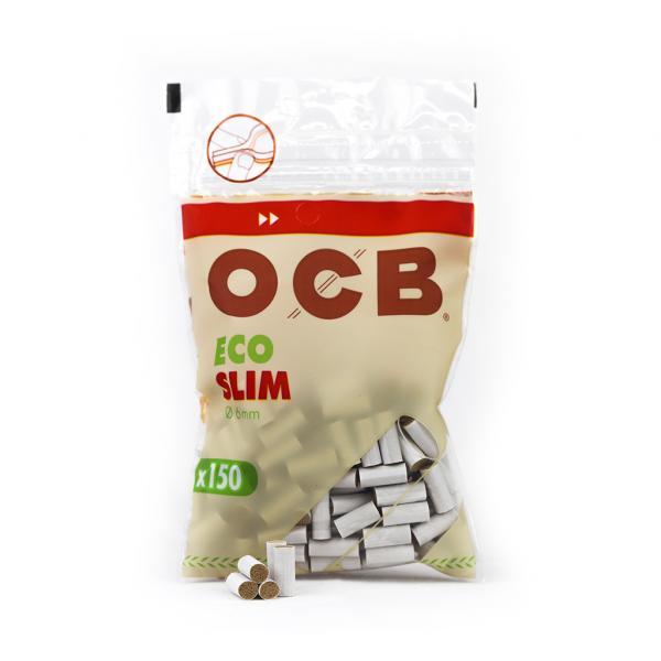 Filtres OCB Organic - Slim (x 150) (Sachet x150)