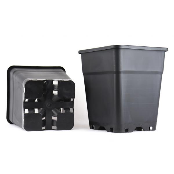 Square Black Pot (11 L)