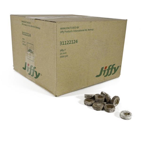 Jiffy 24 Mm (Box of 2000)