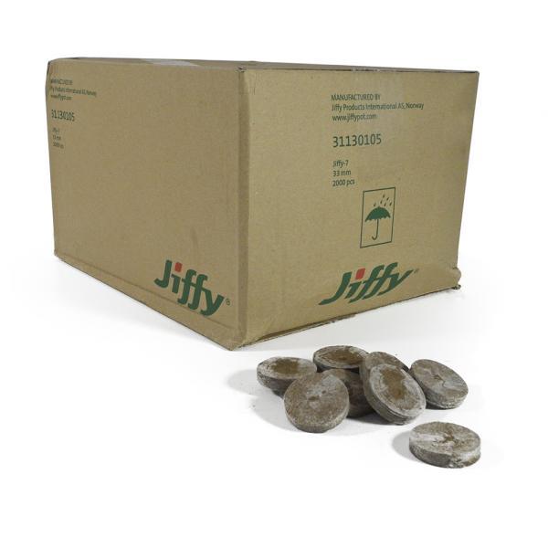 Jiffy 33 Mm (Box of 2000)