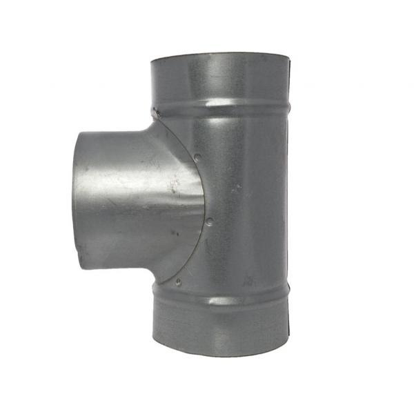 Raccord métallique T (100 mm)