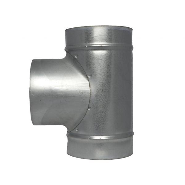 Raccord métallique T (125 mm)