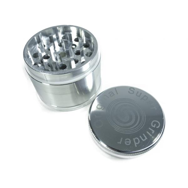Aluminum Grinder Detachable Mesh 4 Parts 50mm (50 mm diameter)