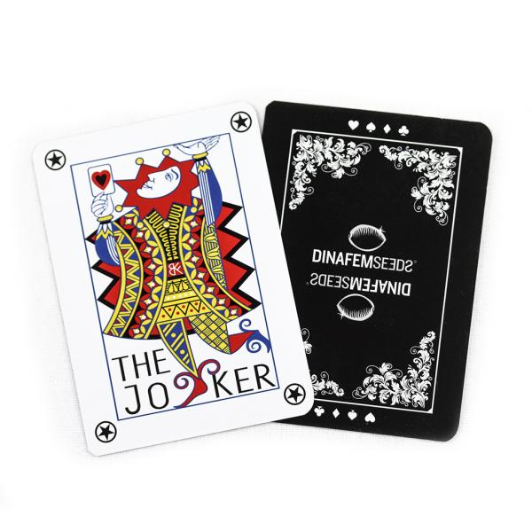 Baraja Póker Dinafem (1 unidad)
