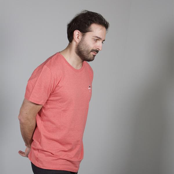CBD T-Shirt Mid Heather Red (L)
