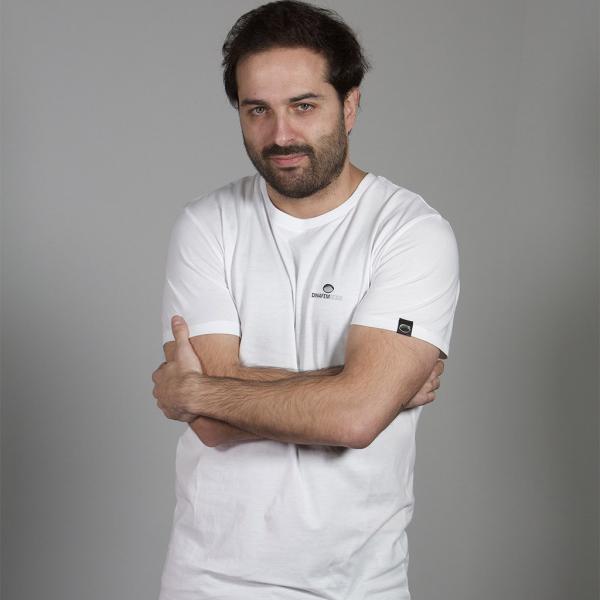 Small Logo T-Shirt White (M)