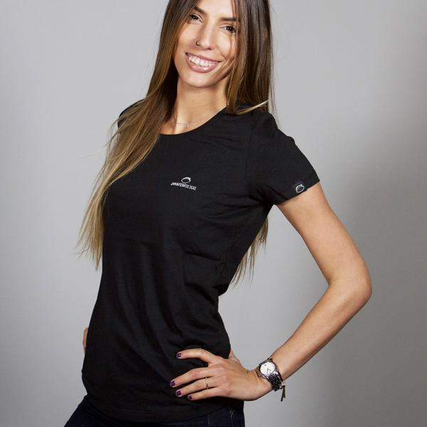 T-shirt petit logo Noir (Taille S)