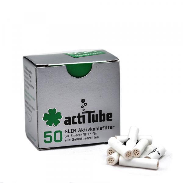 Filtro Carbón Activado Slim (Caja 50 unidades)