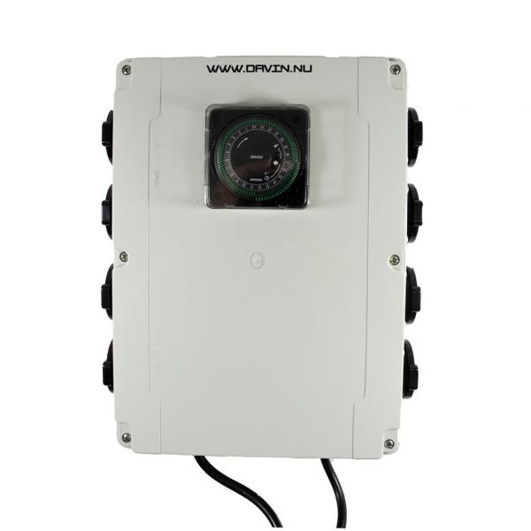 Temporizador Dv-28 Caja 8x600 W (1 unidad)