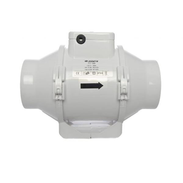 Extractor Tt Dual 2 Velocidades (100 mm)