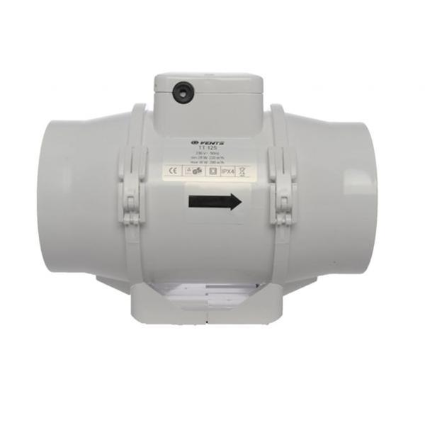 Extractor Tt Dual 2 Velocidades (125 mm)