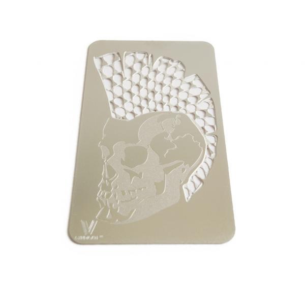 Punk Skull Grinder Card (1 unit)
