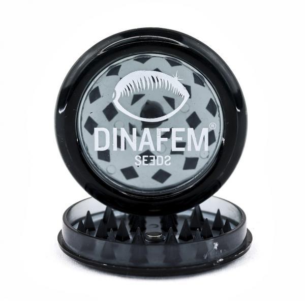 Plastic Grinder Dinafem Black Magnet (1 unit)