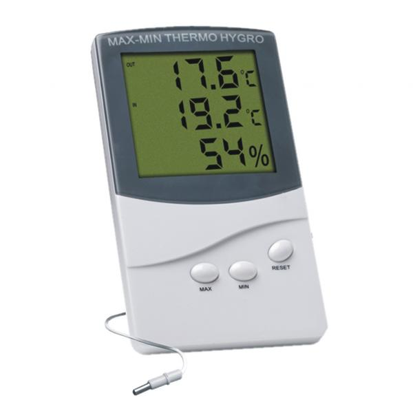 Thermo-hygrometer with probe (1 unit)
