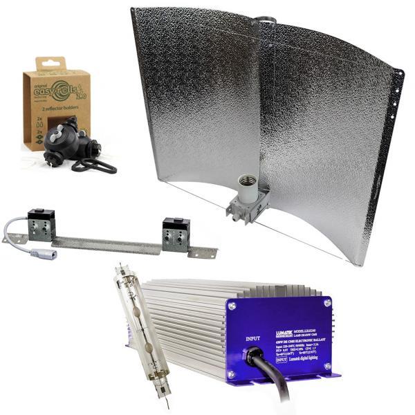 Kit d'éclairage Lumatek LEC 630 W avec réflecteur (Réflecteur Enforcer)