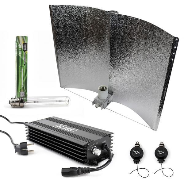 600 W BLACK Lighting Kit (Agrolite SHP GRO&FLO)