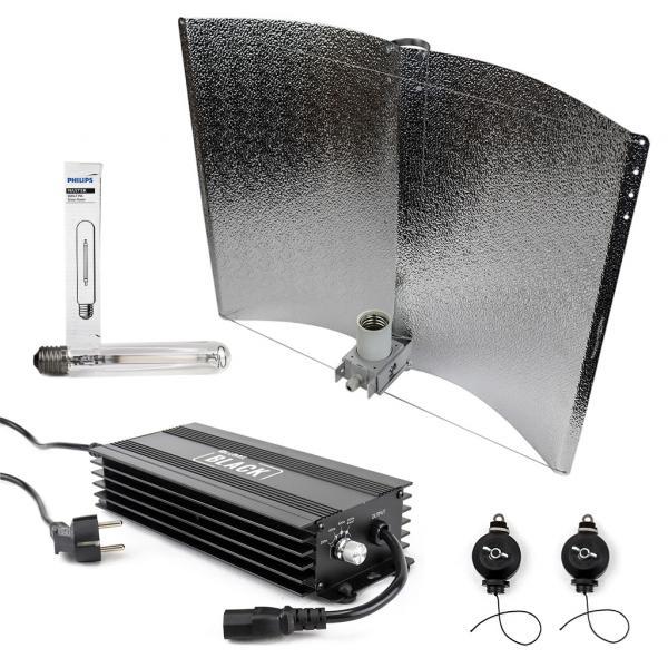 600 W BLACK Lighting Kit (Philips GreenPower)