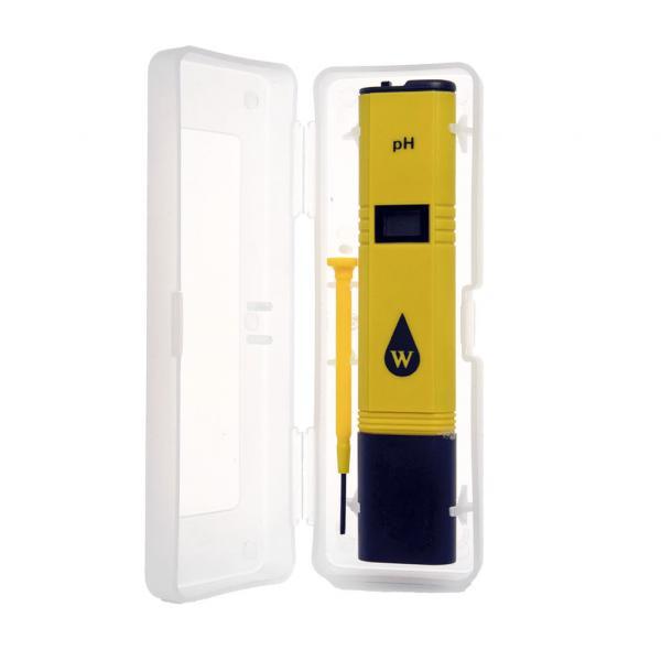 Medidor pH ATC con caja Wassertech (1 unidad)