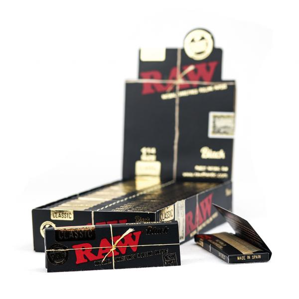 Black Papers 1 1/4 (Pack of 24)
