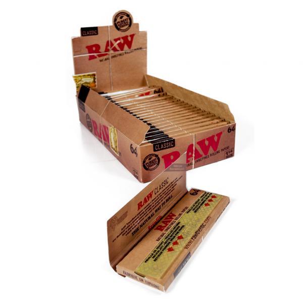 RAW 64 1 1/4 (Box of 24)