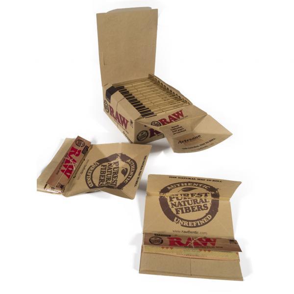 Feuilles Artisanale KS Slim + Tips (x15) (Boîte 15 unités)