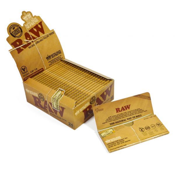 RAW King Size Supreme Slim (Box of 24)