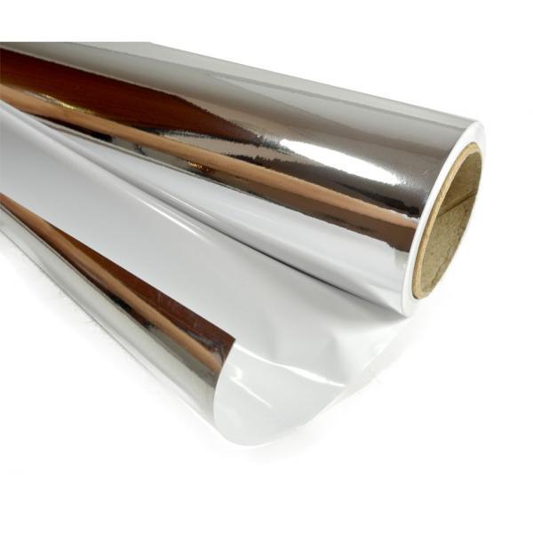 Rouleau argenté/blanc ECO (10 m)