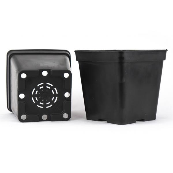 Pot carré noir (1,45 L)