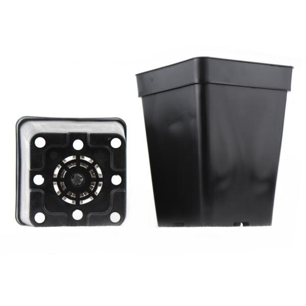 Pot carré noir (3 L)