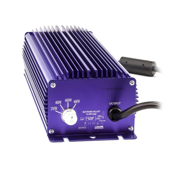 Lumatek Dimmable 240V HPS/MH Digital Ballast (600 W)