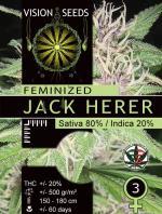 Jack Herer (Pack 3 graines)