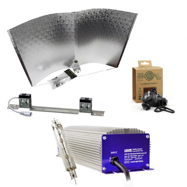 Kit d'éclairage Lumatek LEC 630 W avec réflecteur (Réflecteur Avenger Pro)