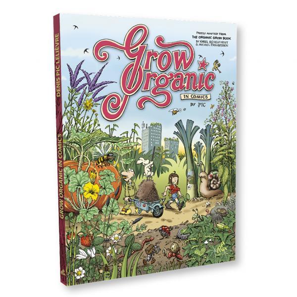Jardiner BIO en bandes dessinées (English)