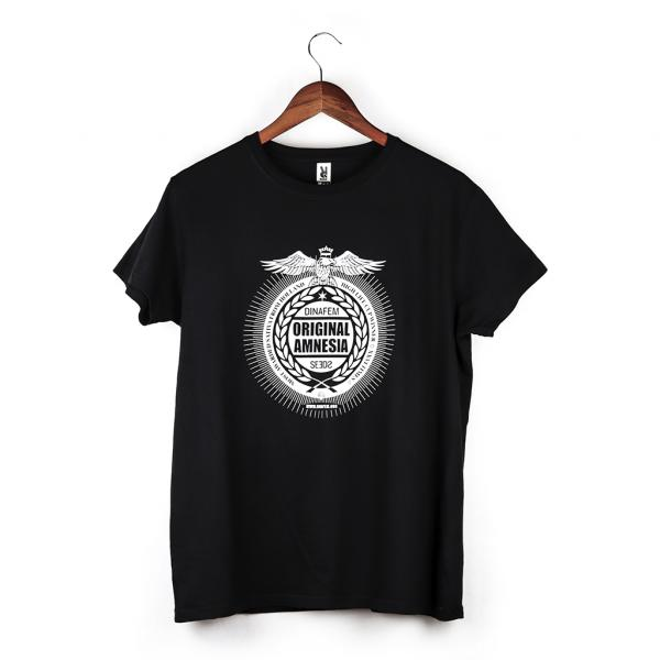 T-shirt Original Amnesia Noir (Taille XL)