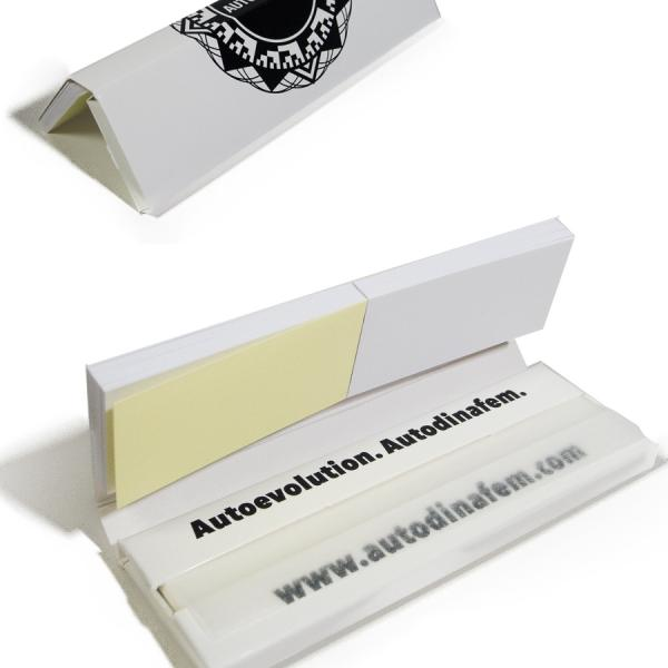 Autodinafem King Size Rolling Paper + Tips (Box of 26)