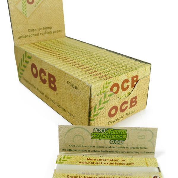 Feuilles à rouler OCB - Organic Hemp (1 unité)