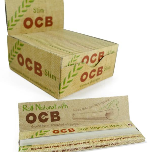 Feuilles à rouler OCB - Organic Slim (1 unité)