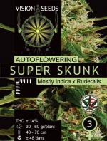 Super Skunk Auto (Pack 3 graines)