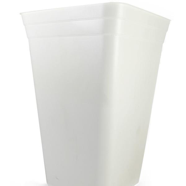 Anti-stress Square White Pot (18 L)